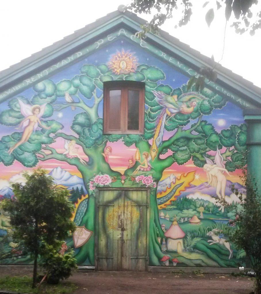 Christiania mural